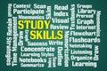 Study Skills Royalty Free Stock Photo