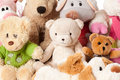 Stuffed animals Royalty Free Stock Image