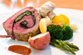 Stuffed Beef Steaks Stock Photography