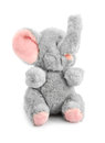 Stuffed elephant Stock Image
