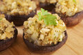 Stuffed Mushrooms Stock Image