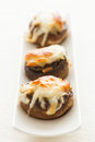 Stuffed mushrooms. Royalty Free Stock Photography