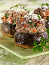 Stuffed Mushrooms Stock Images