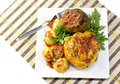 The stuffed peppers with potatoes Royalty Free Stock Photo