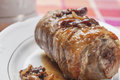 Stuffed pork loin series 03 Stock Photo