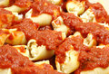 Stuffed shells Stock Image