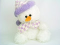 Stuffed Snowman Royalty Free Stock Photo
