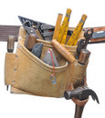 Stuffed Tool belt Royalty Free Stock Photo