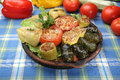 Stuffed vegetables Royalty Free Stock Photo