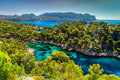 Stunning Calanques de Port Pin in Cassis near Marseille, France Royalty Free Stock Photo