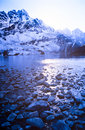 Stunning gokyo valley in the nepalese himalaya near mount everest Royalty Free Stock Photos