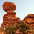 Stunning rock formations the colors of the west Royalty Free Stock Photography
