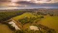 Stunning rural farmland, Australia Royalty Free Stock Photo