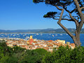 Stunning St. Tropez Royalty Free Stock Photo