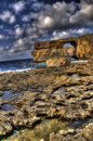 Stunning View of Azure Window in Gozo Royalty Free Stock Photo