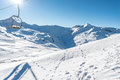 Stunning view of the peaks of Livigno, Italy Royalty Free Stock Photo