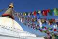 Stupa Bodnath Royalty Free Stock Photo