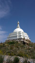 Stupa of Enlightenment on the island Ogoy Royalty Free Stock Image