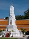 Stupa at Wat Mahathat in Bangkok, Thailand Royalty Free Stock Photo
