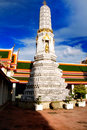 Stupa in Wat Pho Royalty Free Stock Image