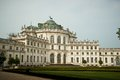 Stupinigi palace near turin la palazzina di caccia di ancient royal residence Royalty Free Stock Photo