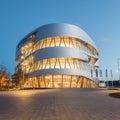Stuttgart, Mercedes-Benz Museum Royalty Free Stock Photo