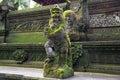 Stutue in Sacred Monkey Forest, Ubud, Bali, Indonesia Royalty Free Stock Photo