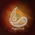 Style diwali vector design abstract Royalty Free Stock Photos