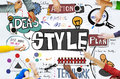 Style Posh Fashion Trendy Fashionista Concept Royalty Free Stock Photo
