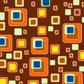 Style retro fyrkanter för bakgrund wallpaperen Royaltyfri Fotografi