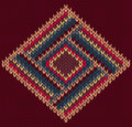 Style Seamless Knitted Pattern Royalty Free Stock Photography