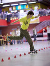 Style-slalom competition Stock Images
