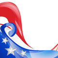 Stylish american independence day vector design Royalty Free Stock Photography