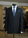 Stylish business suit on a mannequin Royalty Free Stock Photo
