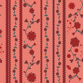 Stylish  cheerful Pattern Background texture   Floral seamless wallpaper Royalty Free Stock Photo