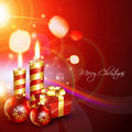 Stylish christmas background Royalty Free Stock Photo