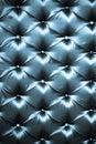 Stylish dark blue silk upholstery Stock Image