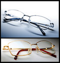 Stylish eye glasses Stock Images