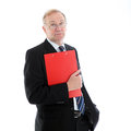 Stylish fashionable business executive Royalty Free Stock Images