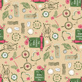 Stylish illustration with seamless pattern design for ha