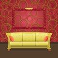 Stylish Modern interior Royalty Free Stock Images