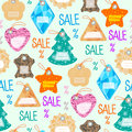 Stylish price clothes tag with pattern sale card stickers collection paper blank business promotion badge vector