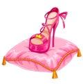 Stylish princess shoe