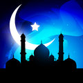 Stylish ramadan kareem vector Royalty Free Stock Photo