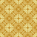 Stylish seamless pattern with decorative ornament of sand  shades Royalty Free Stock Photo