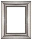 Stylish Silver Frame Royalty Free Stock Photo