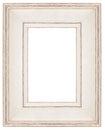 Stylish white Frame Royalty Free Stock Photo