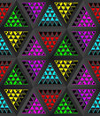 Stylistic abstract light background with a diverse geometric structure. 3D illustration. Royalty Free Stock Photo