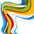 Stylized abstract graphic. Stock Image