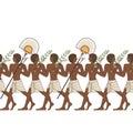 Stylized ancient egypt background